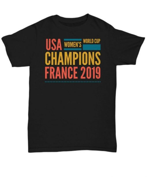 USA women soccer team world championship cup shirt camiseta camisa unisex