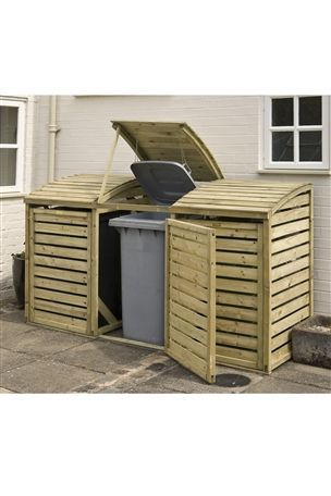 Buy Triple Wheelie Bin Store from the Next UK online shop