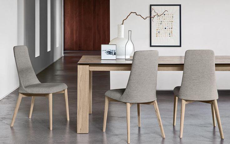 CS/4058-LL 180 Omnia Wood Dining Table, Calligaris Italy