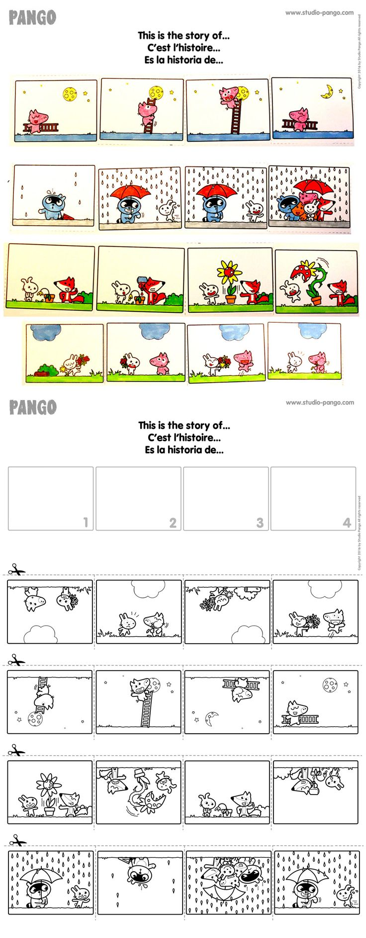 This is the story of... #sequential pictures #cutting