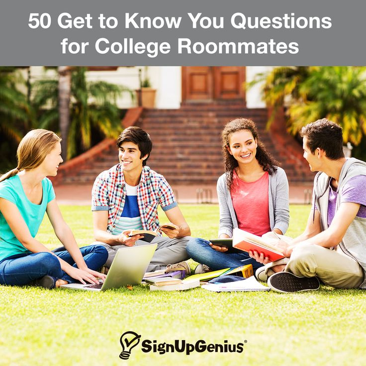 50 get to know you questions for college roommates this
