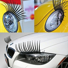 Eyelashes for Car Headlights