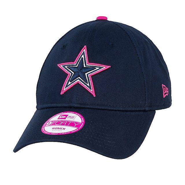 Dallas Cowboys BCA Womens 9Forty Hat #BreastCancerAwareness #DallasCowboys