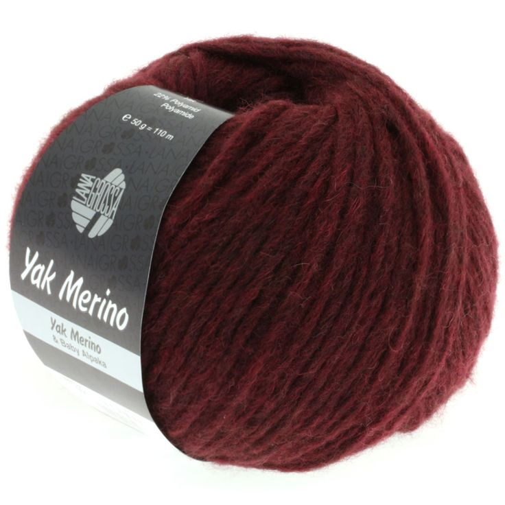 YAK MERINO 04-brugundy mix | EAN: 4033493160711