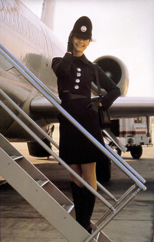 #vintage #airhostess #stewardess #airline #fashion #style