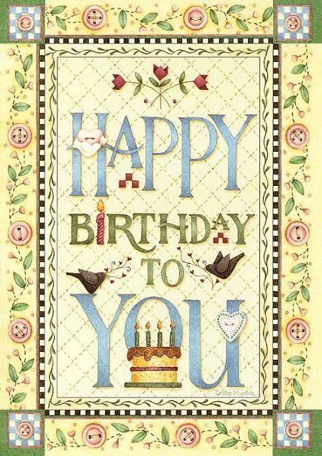 Debbie Mumm - Happy Birthday to you