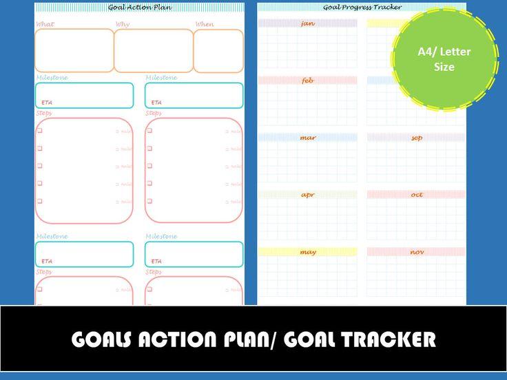 Mer enn 25 bra ideer om Action plan template på Pinterest - action plan work sheet