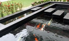 Best 25 modern pond ideas on pinterest garden stream for Modern koi pond design