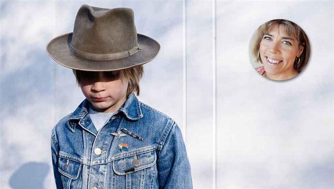 """Hillevi Wahl: """"Hjälp, mitt barn är en blygis"""""""