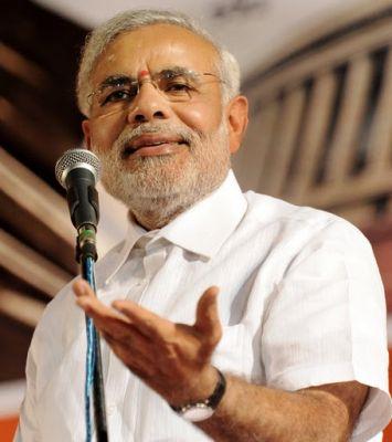 "Narendra Modi Gives to BJP new ""election slogan"""