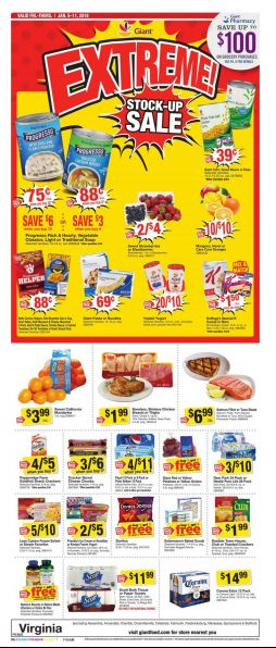 Giant Food Weekly Ad Jan 05-11, 2018 https://www.weeklyadspecials.com/giant-food-weekly-ad/