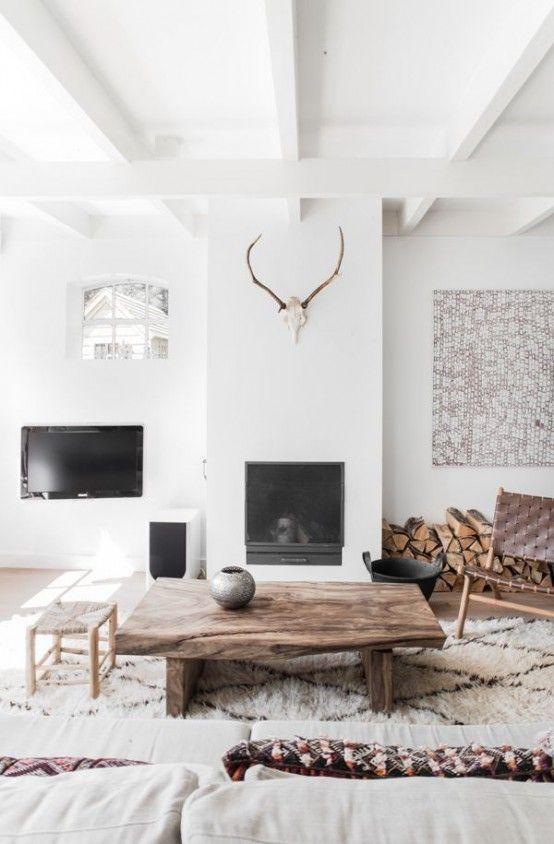 201 besten inside living rooms bilder auf pinterest rund ums haus wohnideen und fenster. Black Bedroom Furniture Sets. Home Design Ideas