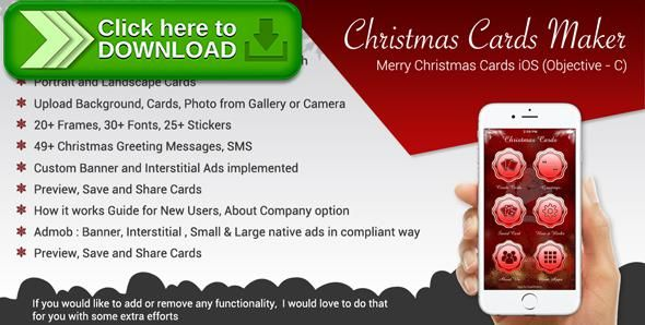 [ThemeForest]Free nulled download Christmas Greetings && Merry Christmas Cards iOS App (Objective-C / X-Code) from http://zippyfile.download/f.php?id=40329 Tags: ecommerce, candle, christmas cards, christmas greetings, christmas tree, gift, merry christmas, message, new year, party, santa, santa gift, sms, snow fall