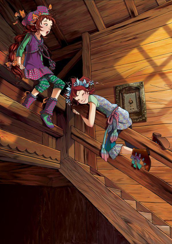 Fairy Oak-Vanilla and pervinca: The Twins