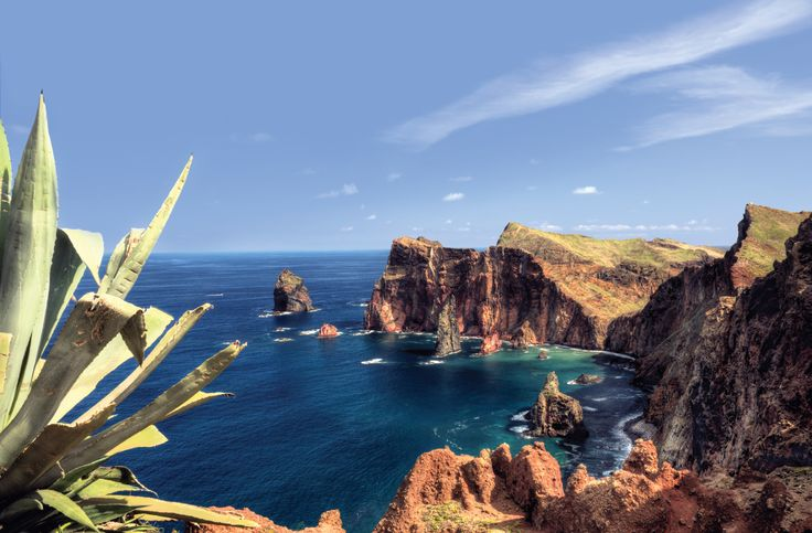 Travel to St Laurence peninsula, the most easterly point on Madeira with HF Holidays on their Madeira Canico de Baixo holiday #Travel #Madeira