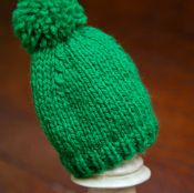 1 Hour Baby Hat- Free Knitting Pattern - via @Craftsy