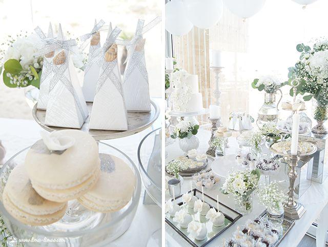 Lima Limão - festas com charme: Beach Glamour in White: festa de 30º aniversário