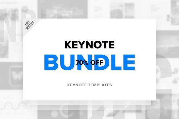 Keynote Bundle - Free Updates by ReworkMedia on @creativemarket