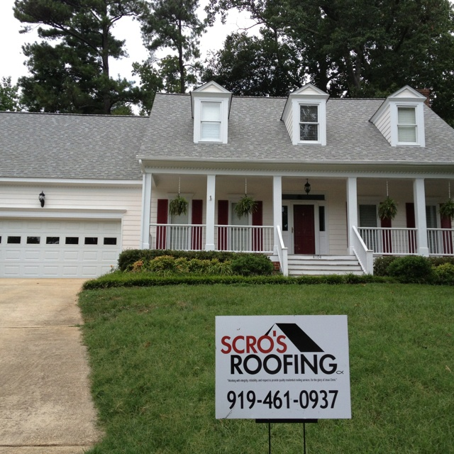 North Raleigh Roof Certainteed Landmark Color Cobblestone