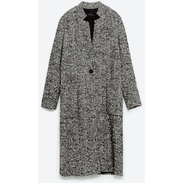МАКСИ - ПАЛЬТО ШЕРСТЯНОЕ-Просмотреть все-ВЕРХНЯЯ ОДЕЖДА-ЖЕНЩИНЫ   ZARA... (6.270 RUB) ❤ liked on Polyvore featuring woolen coat, wool maxi coat, wool coat and maxi coat