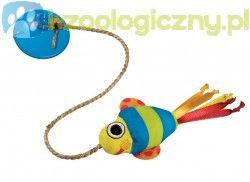 PETSTAGES Dangling Fish - mysz zabawka dla kota do zawieszenia na przyssawce