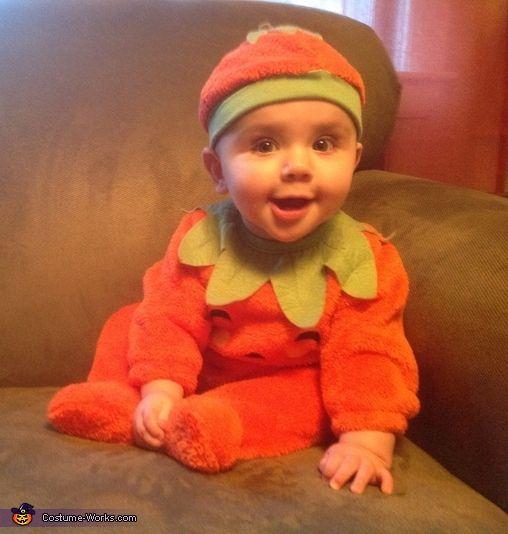 Pumpkin Girl - Halloween Costume Contest via @costumeworks