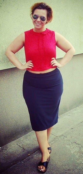 Między-blogowy cykl 'Spędź tydzień z nami, dobrze ubranymi XL-kami' :) – Moje Malinowe Love <3