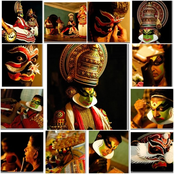 Kathakali is one of the ancient classical dance forms of India. Originates from South Indian state, Kerala. The word Kathakali means, story-play, and uses a combination of literature, music, painting, acting, and dance in its theatrical productions. With the combination of hand gestures, body movements, and expressions, performers communicate with over 600-700 intricate gestures.  Performers are taught to communicate with their eyes and various facial muscles, skills that take years to…