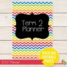 EYLF Term Planner is EDITABLE and a fantastic way to get you started with your EYLF Documentation. It is over 100 pages too! Each section is editab...