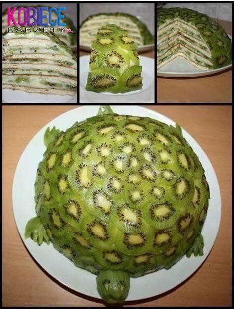 Jak zrobić tort żółwiowy