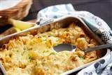 Tonfisk- och pastagratäng