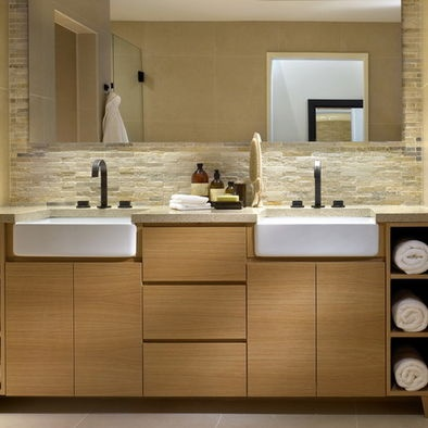 Bathroom Farmhouse Sink Design, Pictures, Remodel, Decor and Ideas