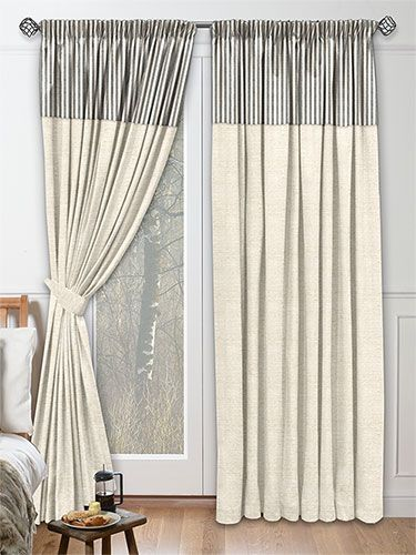 Seaboard Porchester Curtains from Curtains 2go