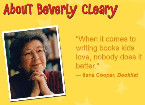 Beverly Cleary: Author Study & Mini Lesson by Lana ...