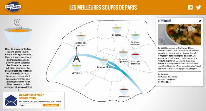 Où trouver les meilleures soupes de Paris ?