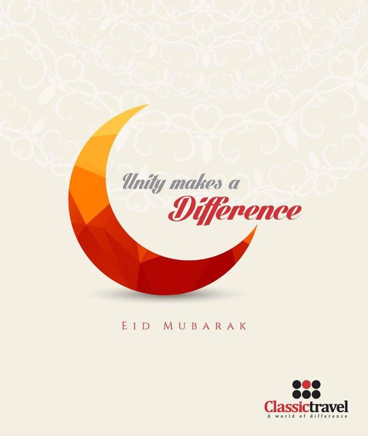 Eid Mubarak !   #unity #happiness #festival #Classictravel #AWorldofDifference