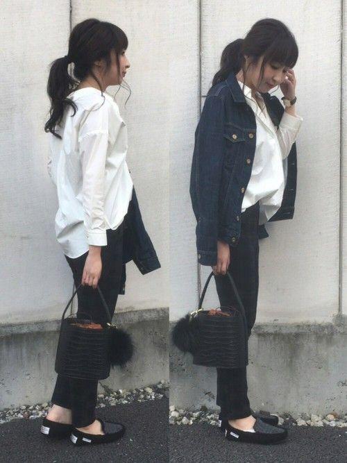 nano・universeさんの襟抜きスキッパーシャツが届きました❤️ メイク汚れ防止もついていて、