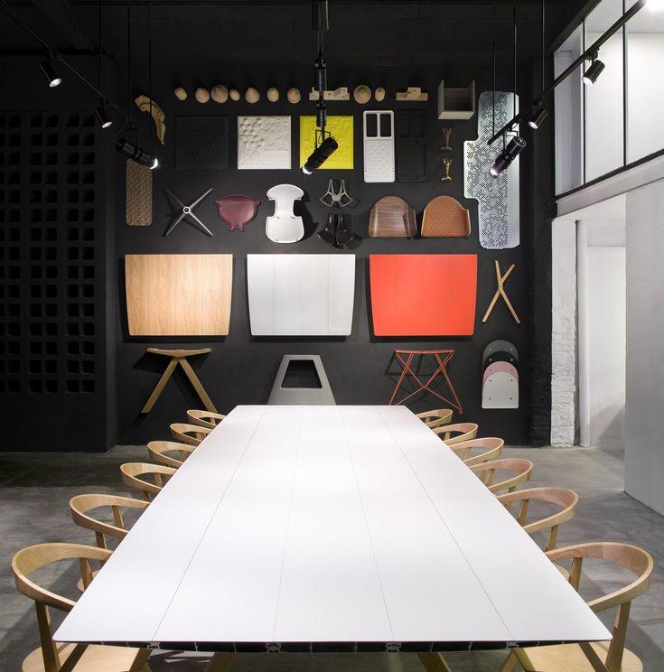 TAVOLO RETTANGOLARE DA PRANZO TABLE B COLLEZIONE EXTRUSIONS BY BD BARCELONA DESIGN | DESIGN KONSTANTIN GRCIC