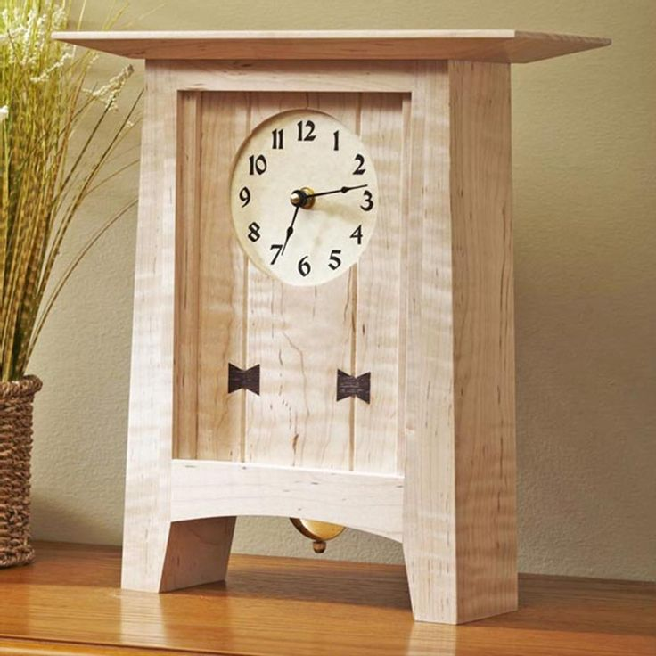 Mantle Clock Woodworking Plans - WoodWorking Projects & Plans