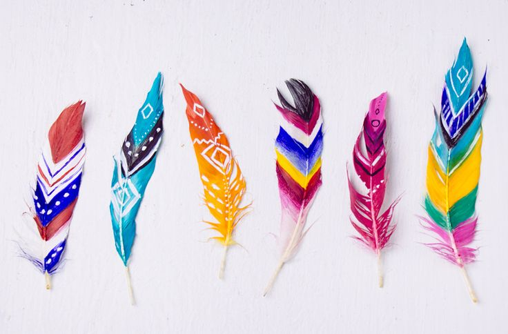 SoulMakes: DIY Painted Feathers