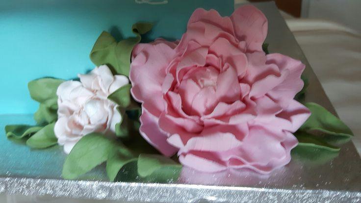 Fiore Peonia gum paste