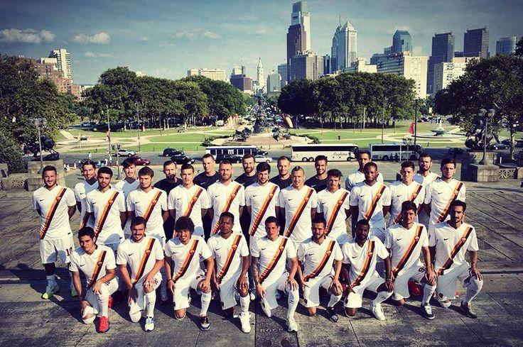 La squadra a Filadelphia (U.S.A.)