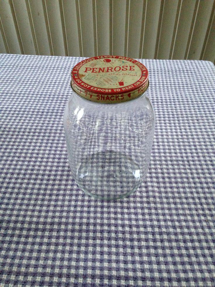 1960's Penrose Sausage Gallon jar