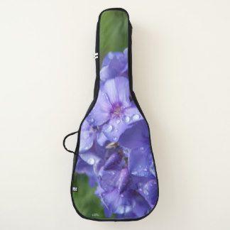 Housse Pour Guitare fleur violet