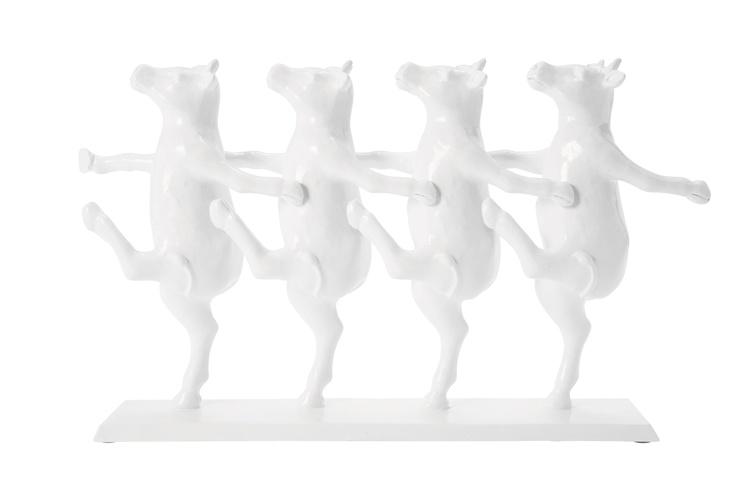 Deko figur dancing cows cow - Home24 showroom munchen ...