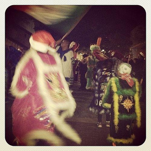 Chinelos Morelos Dancers.