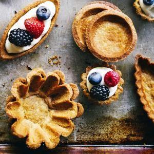 Basic Tart Dough | Sunset. Pair with Vanilla Pastry Cream, top with fruit, chocolate, etc.