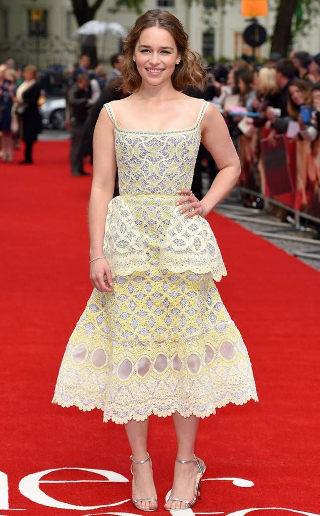 3c3df3944c9a Emilia Clarke from The Best of the Red Carpet