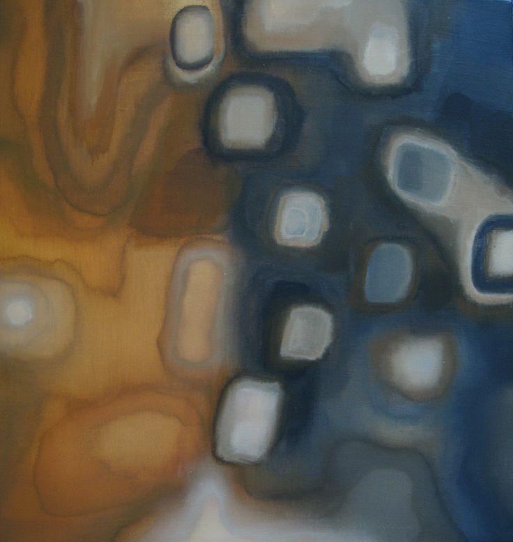 Earth-acrylics on 60x60 cm canvas