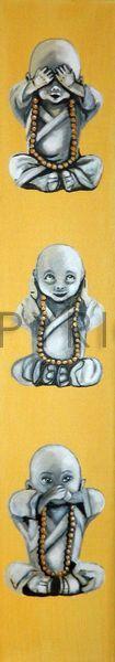 Ihre Bilder auf FineArtPrint verkaufen 10289207 Anowi affen anowi balance buddha buddhismus die drei entspanung feng gelb glaube glück hören iwona japan jugendzimmer kampfkunst kampfsport kind kinderbilder kindermotive kinderposter kinderzimmer ...